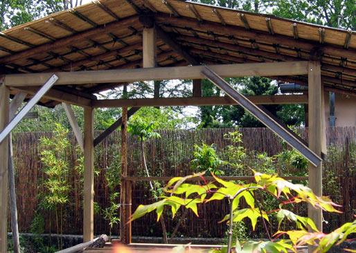 canisse bambou pour pergola prix d une tonnelle de jardin canisse bambou pour cloture et. Black Bedroom Furniture Sets. Home Design Ideas